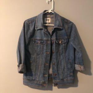Old Navy Denim Jacket - worn once! Light denim